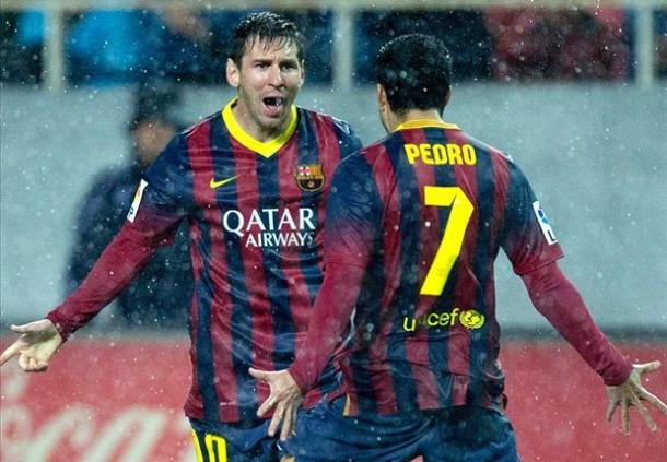 Messi Ucapkan Salam Perpisahan Untuk Pedro
