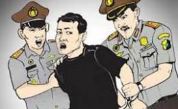 Polisi Amankan Tiga Preman di Terminal Depok