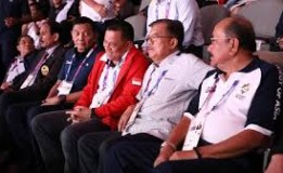 JK Bareng Gatot Nurmantyo Tonton Pertandingan Karate di GBK