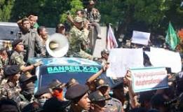 Massa NU Desak Bupati Wonosobo Tegakkan Perda Tentang Tempat Hiburan
