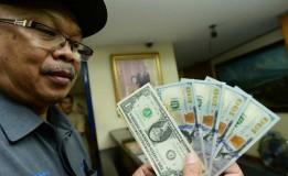 Nilai Ganti Rupiah pada Dolar Amerika Serikat Menurun