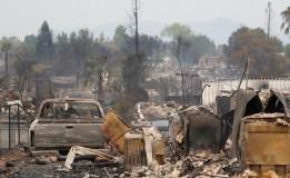 Korban Hilang Akibat Kebakaran Hutan AS Rata-Rata Berusia 65 Tahun Keatas