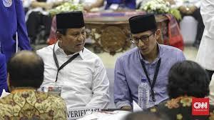 Politik Di Mata Tim Prabowo – Sandiaga Uno