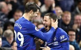 Hazard Beri Efek Kilat Usai Diturunkan Saat Hadapi Crystal Palace
