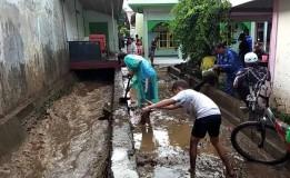 Air Sungai di Banyuwangi Meluap, Belasan Rumah Terendam