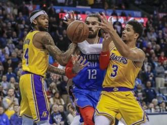 Lewat Babak Overtime Lakers Benamkan Perlawanan Thunder