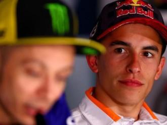 Sebagai Rival Di MotoGP Rossi Akui Sering Memantau Marquez