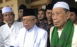 Ma'ruf Amin: Di Jawa Barat Optimis Menang 70 Persen Suara