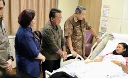 Kondisi Ani Yudhoyono Kian Membaik