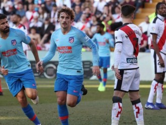 Hasil Laga Atletico vs Rayo Vallecano di Lanjutan Liga Spanyol: Skor 1-0
