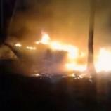 Kebakaran Galangan Kapal di Baubau Diduga Dibakar Karyawan yang Gajinya Belum Dibayar