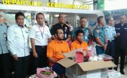 WN Malaysia Ditangkap Di Bandara Juanda Karena Selundupkan 1 Kg Sabu Di Speaker