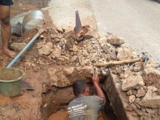 Ratusan Rumah di Bekasi Terdampak Akibat Kebocoran Pipa PDAM
