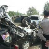 3 Orang Meninggal Dikecelakaan Laris Lintas Di Tol Cikopo Palimanan