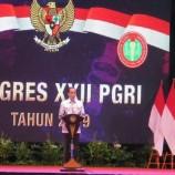 Kata Jokowi Guru Tetaplah Guru Bukan Mesin