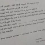 Surat Larangan Nikah Siswa SMPN 7 Solo Dibuat Kepala Sekolah